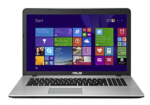 "Asus Premium X751LN-TY045H PC portable 17,3"" Métal (Intel Core i5, 6 Go de RAM, Disque dur 1 To, Carte NVIDIA 2 Go, Windows 8.1)"