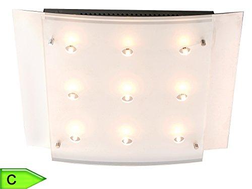 Fischer Leuchten Plafonnier Edna - 9 ampoules
