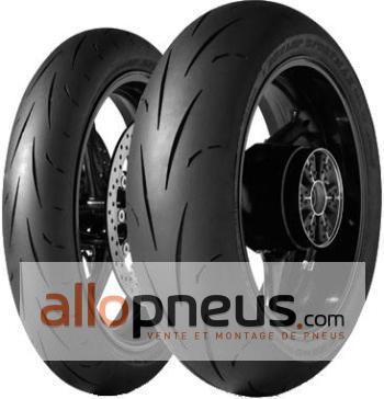 Pack pneus DUNLOP GP RACER D211 MEDIUM AV ENDURANCE AR