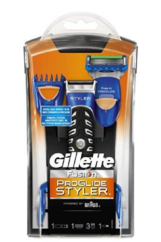 Gillette - Tondeuse Rasoir Fusion Proglide Styler 3 en 1