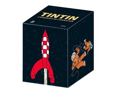 Coffret DVD Tintin L'intégrale