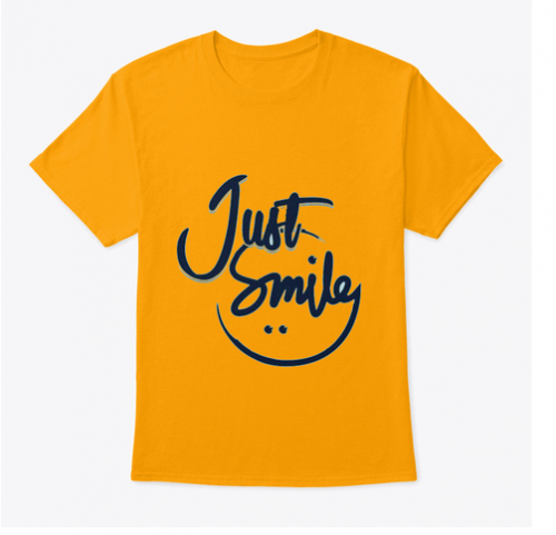 juste smile t-shirt
