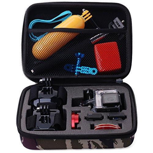 XCSOURCE® Étui de transport et de Voyage Sac protecteur Portable de camouflage et de stockage pour GoPro Hero 2 3 3+ 4 OS158