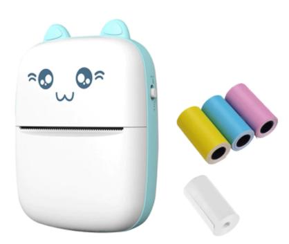 Mini-imprimante thermique Portable sans fil