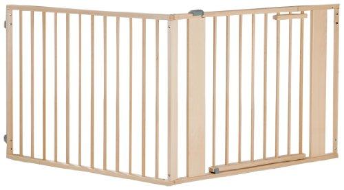 Geuther Barriere à Configurer - Bois - 120 -180 cm