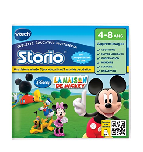 Vtech - 230405 - Jeu Educatif - La Maison de Mickey