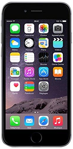 Apple iPhone 6 Smartphone débloqué 4G (Ecran : 4.7 pouces - 64 Go - iOS 8) Gris Sidéral