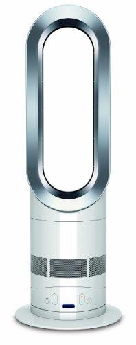 Dyson AM05 Chauffage soufflant et ventilateur avec Technologie Air multiplier Blanc/Argent