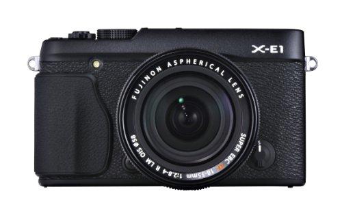 Fujifilm X-E1 Kit 18-55mm Appareil photo numérique Réflex 16.3 Mpix  Noir