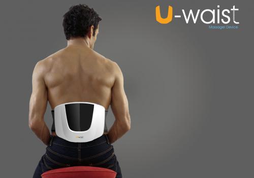 """Appareil de massage des lombaires """"U-WAIST"""""""