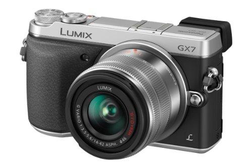 Panasonic DMC-GX7KEG +14-42mm Appareil Photo Numérique Compact 16 Mpix Wi-Fi Argent