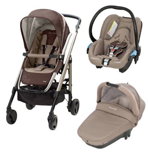 Bébé Confort Poussette Combinée Trio Loola Excel Collection 2014 Walnut Brown