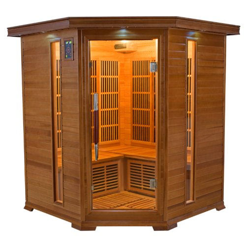 Sauna infrarouge LUXE 3/4 (3/4 places)