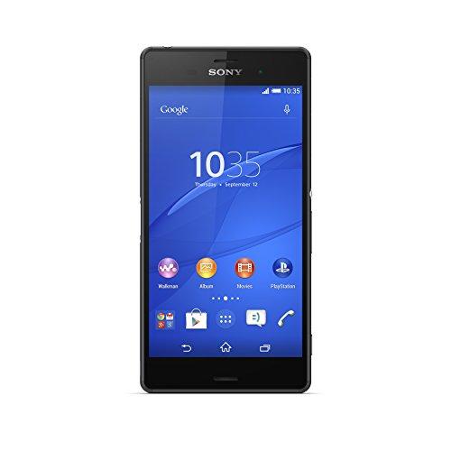 Sony Xperia Z3 Smartphone Débloqué 4G (Ecran : 5.2 pouces - 16 Go - IP 65 / IP68 - Android 4.4 KitKat) Noir