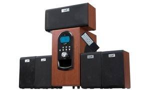 Genius 5.1 Haut-parleurs System SW-HF5.1 6000, 200 Watt RMS