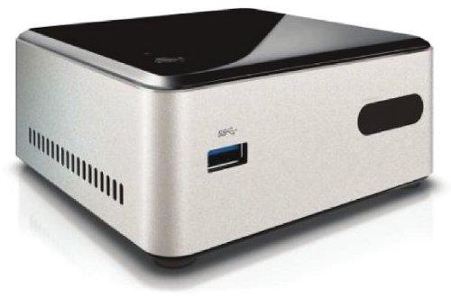 Intel NUC Kit DN2820FYKH Barebone Intel Argent/Noir