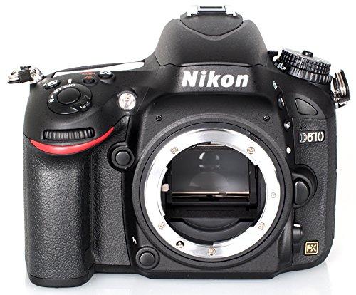 Nikon D610 Appareil photo numérique Reflex 24.7 Mpix Boîtier nu Noir