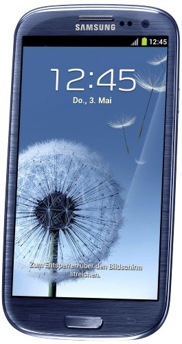 Samsung Galaxy S3 Smartphone Bluetooth/Wi-Fi Android 32 Go Bleu (Import Europe)