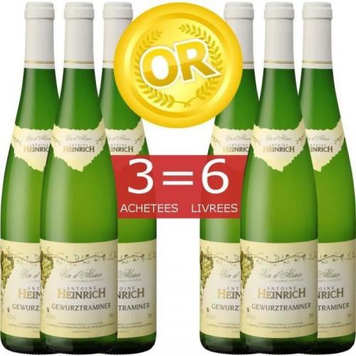 Vin blanc Heinrich 2013 - 6 bouteilles