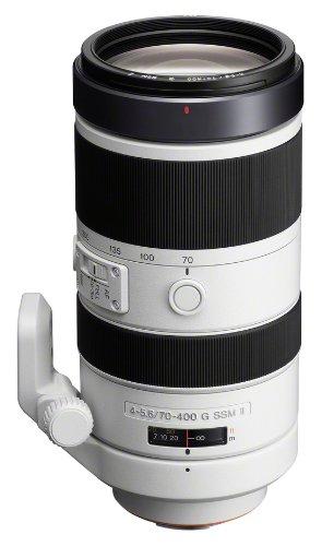 Sony SAL 70-400G II Objectif 600 mm Noir, Blanc