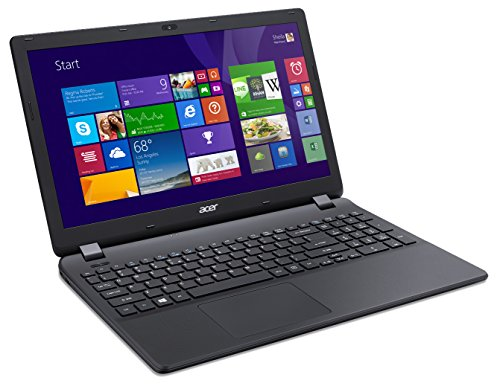 "Acer Aspire ES1-512-C4FR PC Portable 15,6"" Noir (Intel Celeron, 4 Go de RAM, Disque Dur 500 Go, Windows 8.1)"