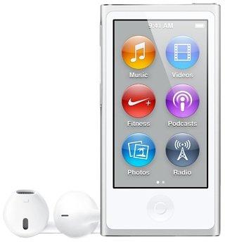 Apple - iPod nano - MD480ZD/A - 16 Go - Argent - (7ème génération) - Nouveau