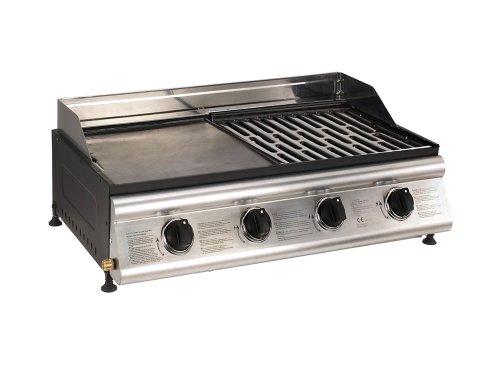 cook 39 in garden barbecue gaz mixte las palmas poser 4 br leurs inox prix 234 99. Black Bedroom Furniture Sets. Home Design Ideas