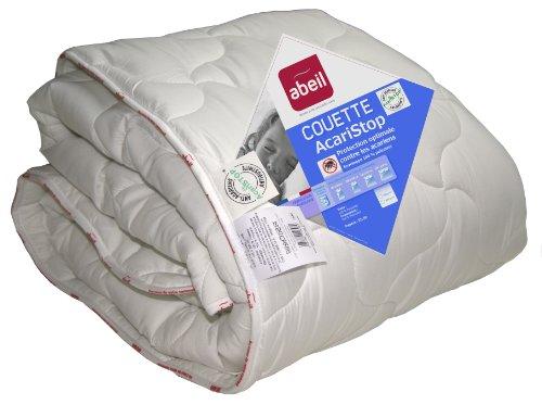 Abeil 15000000649 Couette Anti-Acarien/Antibactérienne Etoile Polyester Blanc 220 x 240 x 4 cm
