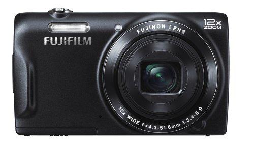 """Fujifilm T500 Appareil photo numérique 2,7"""" 16 Mpix Zoom optique 12x HDMI Noir"""