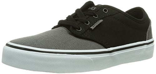 Vans Y Atwood, Baskets mode mixte enfant - Noir (Black/Grey), 37 EU