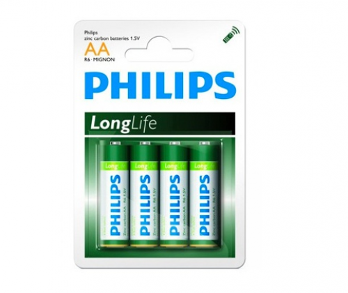 16, 48 ou 96 piles Philips LongLife AA LR03 et/ou AA LR06