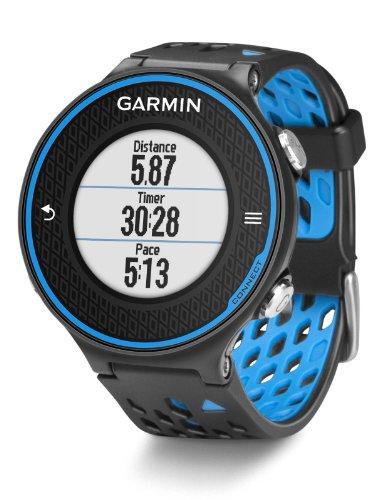 Garmin Forerunner 620 avec cardio-fréquencemètre - Montre de running avec GPS intégré - Bleu/Noir