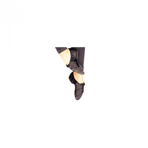 Chaussons danse moderne jazz bi-semelle cuir -