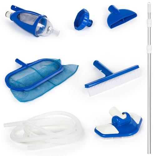 Intex - 58959 - Accessoires Piscines - Kit D'Entretien Vac + - Kit Complet Pour Nettoyer Les Piscines Équipées D'Une Filtration De 3M3/H Minimum